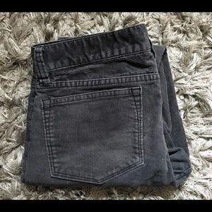 J. Crew Stretch Vintage Cord Toothpick Jeans